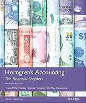 Horngrens Accounting 11é : The Financial Chapters   - Mattison, Brenda L.