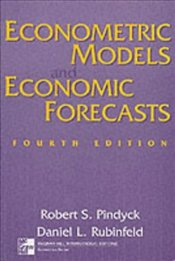 Econometric Models and Economic Forecasts + Disk 4e - Rubinfeld, Daniel L.