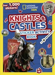 Knights and Castles Sticker Activity Book -