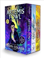 Artemis Fowl 3-Book Paperback Boxed Set - Colfer, Eoin