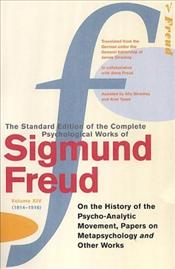 On The History Of The Psycho-Analitic Movement, Papers On Metapsychology V14 (1914-16) - Freud, Sigmund