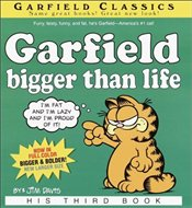 Garfield Bigger Than Life - Davis, Jim