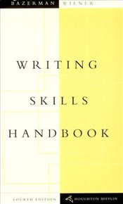 Writing Skills Handbook - Bazerman, Max
